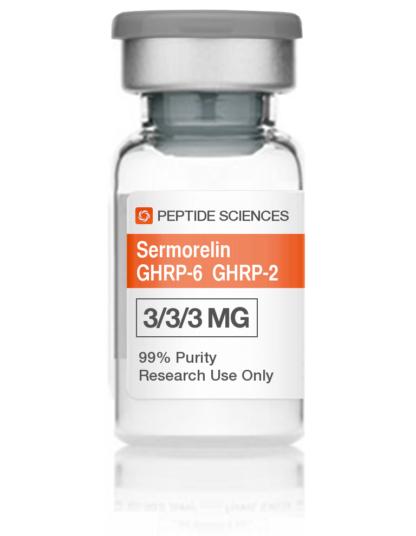 Sermorelin, GHRP6, GHRP2 Blend