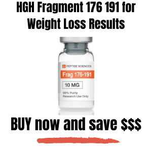 Fragment 176 191, HGH Fragment 176 191 Weight Loss Results
